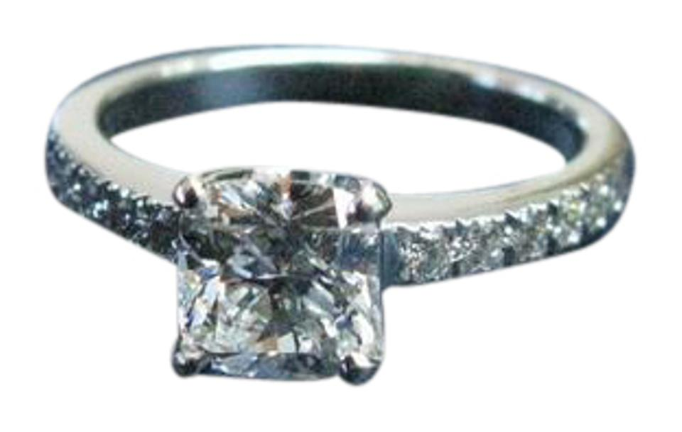 fa2ebf2832ee6 Tiffany & Co. I Co Platinum Novo Diamond Engagement I-vvs2 .93ct Ring 18%  off retail