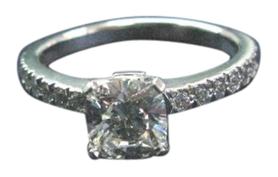 c6ea859972ea6 Tiffany & Co. F Co Platinum Novo Diamond Engagement F-vs2 .88ct Ring 28%  off retail