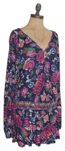 Anthropologie short dress MULTI COLOR Summer Floral One September on Tradesy