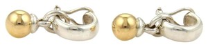 Tiffany & Co. Tiffany & Co.18k YGold 925 Silver Facination Ball Drop Dangle Earrings