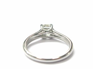 Tiffany & Co. Tiffany & Co PLATINUM Lucida Diamond Ring I-VVS1 .89CT