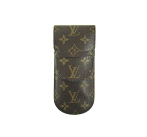 Louis Vuitton Etui Lunettes Rabat Glasses Case Monogram Canvas Leather