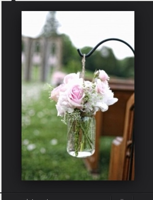 Item - Clear 12 Large Hanging Jars Reception Decoration