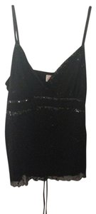 Heart Soul Sequin Top Black