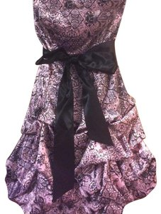 Ruby Rox Party Ruffle Silk Chic Mini Dress