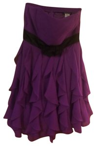 Teeze Me Party Formal Mini Strapless Dress