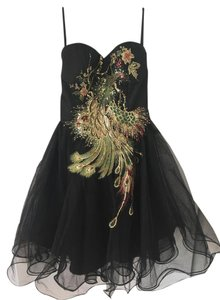 Chi Chi London Embroidery Peacock Tulle Modcloth Dress