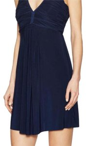 T-Bags Los Angeles short dress Navy on Tradesy