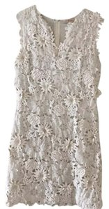 Tory Burch short dress Ivory on Tradesy