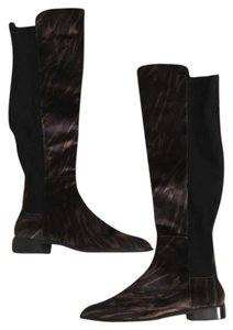 Stuart Weitzman Over The Knee Thigh High Mainstay Tiger Print Boots