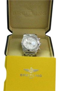 Breitling Breitling Chronograph 44 Mother of Pearl Dial Watch BRAND NEW BOX A691