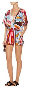Emilio Pucci Printed Terry Cover-up Dress - 42