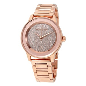 Michael Kors Michael Kors Kinley Rose Gold-Tone Stainless Steel Three Watch MK6210