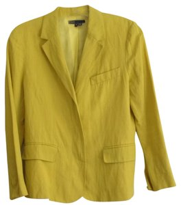 Vince Yellow Blazer