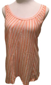 J.Crew Nwt Top Orange & white