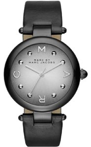 Marc Jacobs Marc Jacobs Women's Dotty Three Hand Leather Watch - Black MJ1410