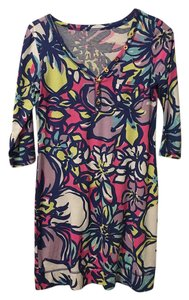 Lilly Pulitzer Colorful Cocktail Floral Dress