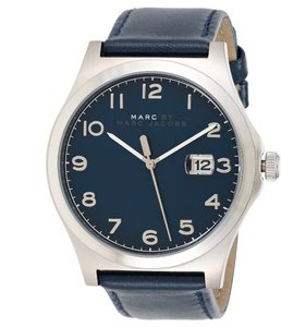 Marc Jacobs Marc Jacobs Women's Jimmy Three Hand Leather Watch - Blue MJ8670