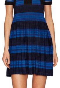 Timo Weiland short dress Blue/Black/Navy on Tradesy