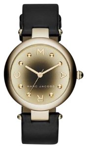 Marc Jacobs Marc Jacobs Women's Dotty Three Hand Leather Watch - Black MJ1465