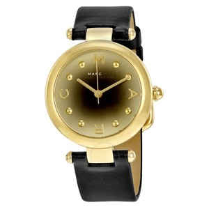 Marc Jacobs Marc Jacobs Women's Dotty Three Hand Leather Watch - Black MJ1409