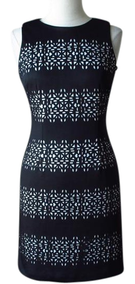 29bc66ec White House | Black Market New with Tags Cutout Laser Cut Textured Sheath  Cocktail Dress