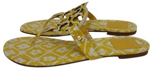 Tory Burch Yellow Floral Sandals