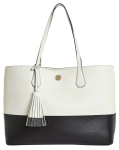 Tory Burch Tote in New Ivory, Blackp