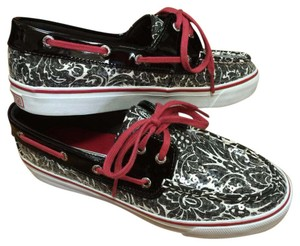 Sperry Black pink silver Athletic