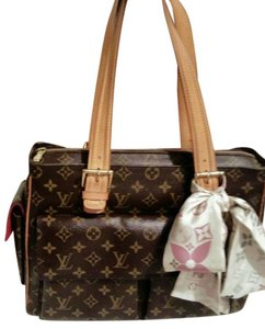 Louis Vuitton Bowling Leather Logo Lv Tote