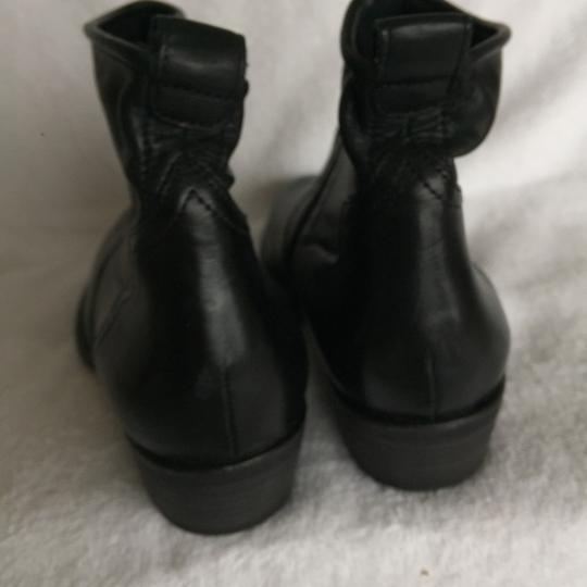 Paul Green Western Soft Black Leather Boots