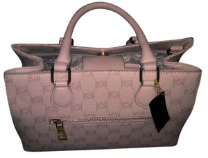 bebe Leather Brand New Monogram Shipping Included Satchel in Light Pink