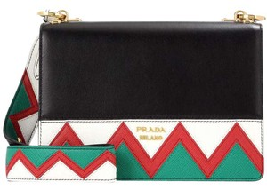 Prada Zig Zag Sold Out Shoulder Bag