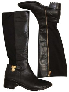 MICHAEL Michael Kors black with gold accents Boots
