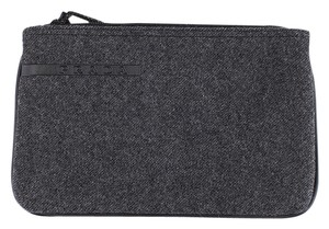 Prada Wool Gray Clutch