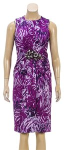 Andrew Gn short dress Purple on Tradesy