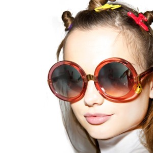 Wildfox New in case Deluxe Malibu Sunglasses