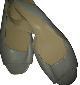 J. Jill Pearl grey ( or light blue ) Flats