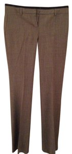 Express Flare Pants Grayish Brown with a Black Waist