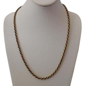 Trifari Vintage Rope Chain Necklace