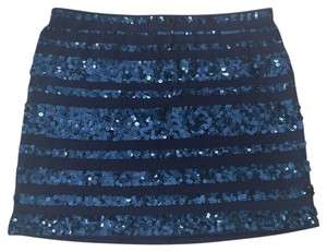 Express Mini Skirt Blue