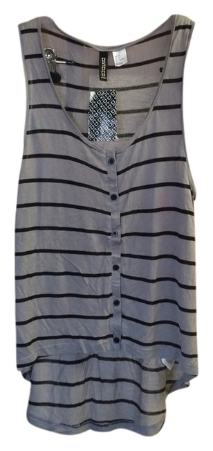 Divided by H&M Top Gray/black