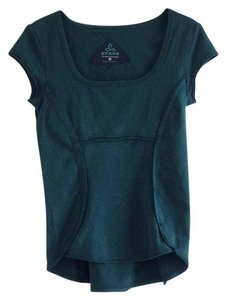 prAna top with shelf bra