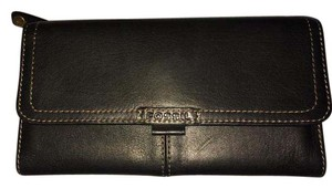 Fossil Leather Checkbook
