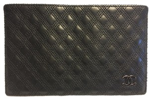 Chanel card/passport wallet