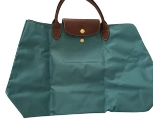 Longchamp Tote in Teal