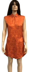 Thakoon short dress Orange Silk Bold Bright Paisley on Tradesy