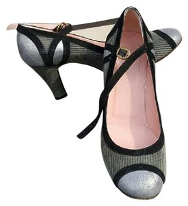 Marc Jacobs black, grey, silver (muted) Pumps