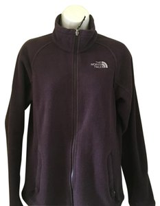 The North Face purple Leather Jacket