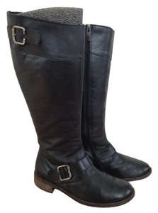 Paul Green Leather Black Boots